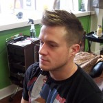 Men's Fade with highlights