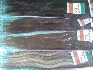 "20"" Clip-in Hair Extensions"