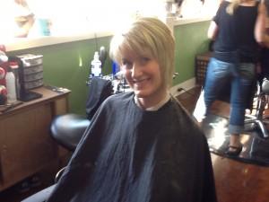 Asymmetrical Hair Cut 2